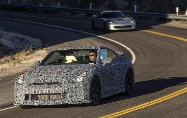 Nissan GT-R проходит тесты