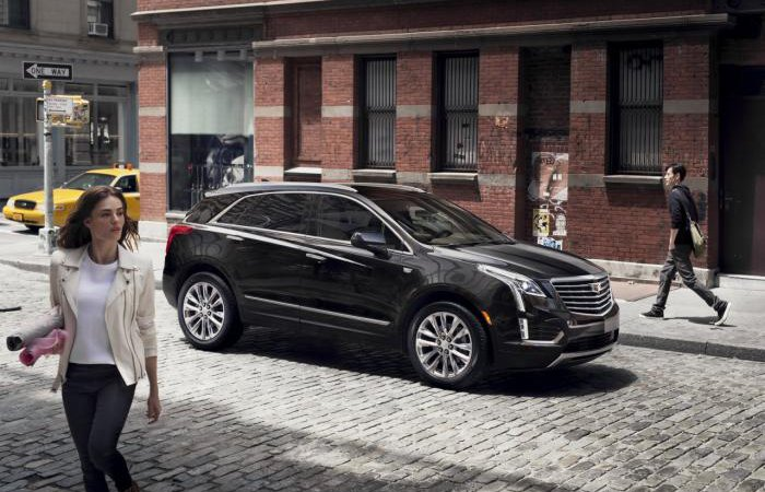 Новый кроссовер Cadillac