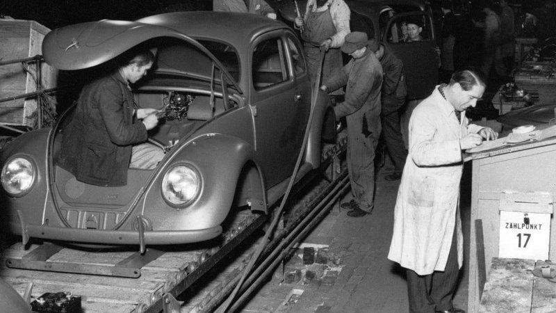 70 лет VW Beetle