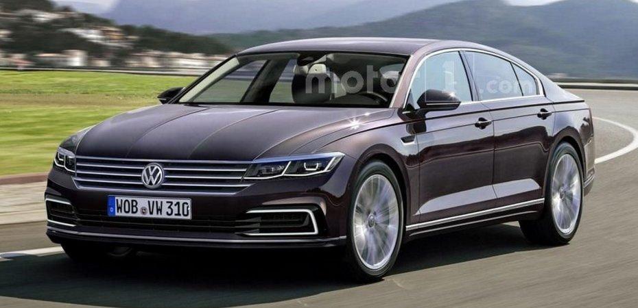 Второе поколение Volkswagen Phaeton