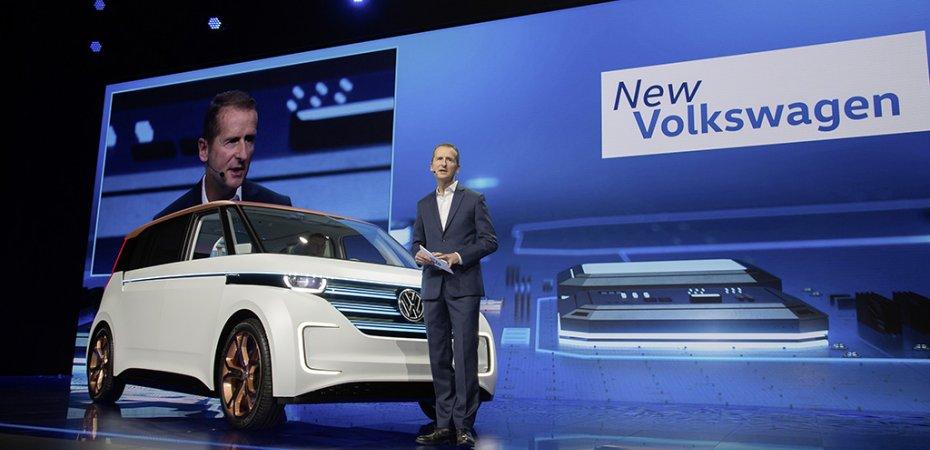 Электромобиль Volkswagen BUDD-e