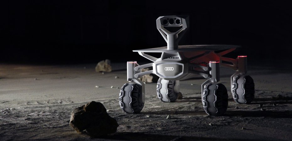 Audi летит на Луну