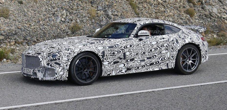 Mercedes-AMG GT появится летом