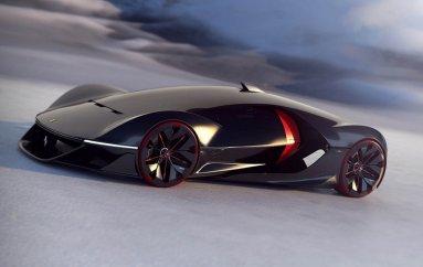 Новый дизайн Ferrari