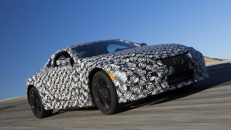 Начались тесты Lexus LC 500