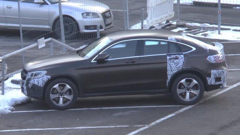 Кросс-купе Mercedes GLC