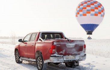 Toyota Hilux «подвезла» Федора Конюхова