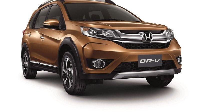 Компактный Honda BR-V