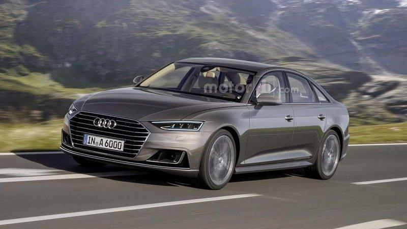 Показан новый Audi A6 2017