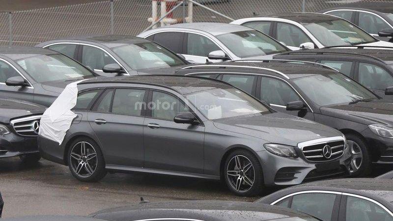 Первые фото универсала Mercedes E