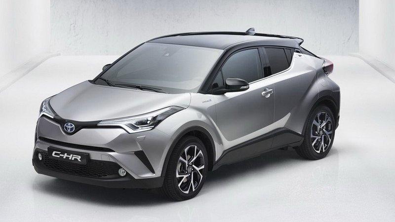 Toyota C-HR показали до Женевы