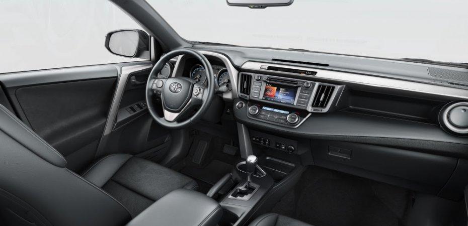 Новые комплектации Toyota RAV4