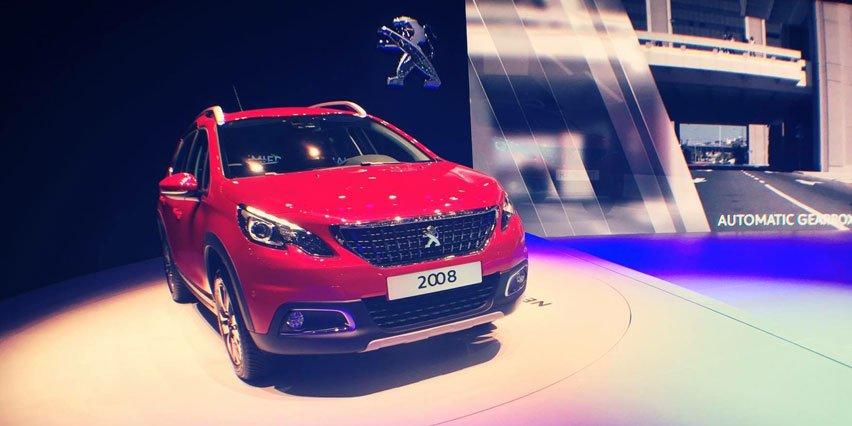 Peugeot показал 2008