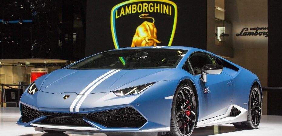 Lamborghini Huracan Avio «взлетел»