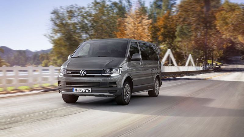 VW Multivan PanAmericana сошел с дорог