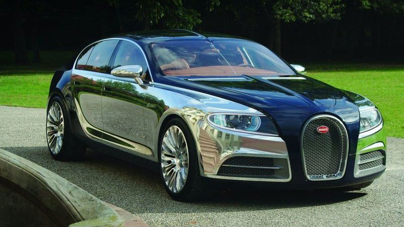 Bugatti выпустит седан