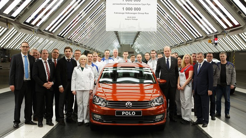 Миллионный Volkswagen