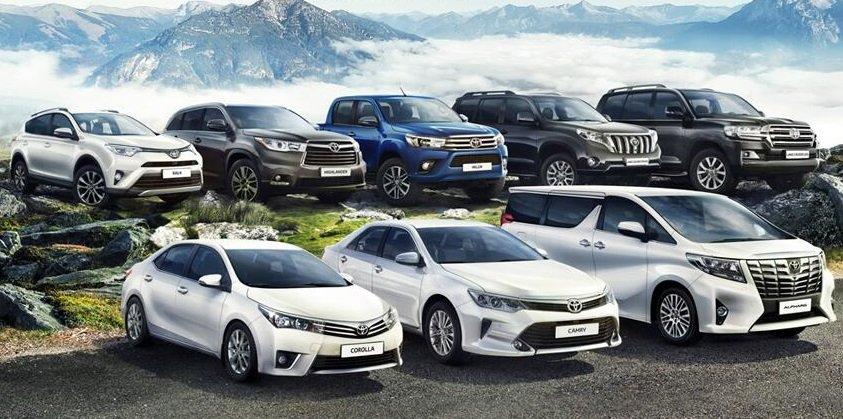Toyota включила всё