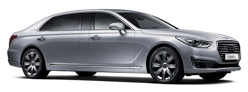 Премьера Genesis EQ900 Limousine