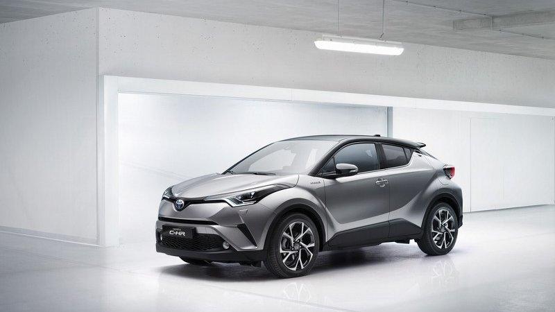 Toyota C-HR в продаже через год