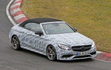 Первые фото Mercedes-AMG C63