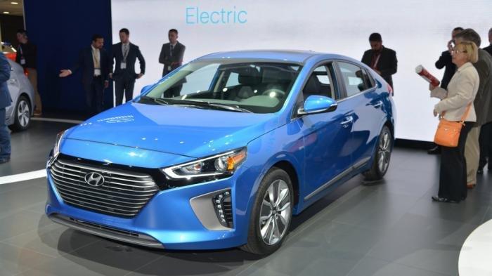 Hyundai Ioniq в Нью-Йорке