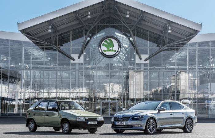 Skoda 25 лет с Volkswagen