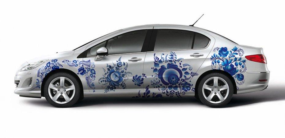 Юбилейные авто Peugeot