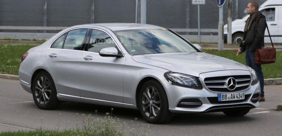 Обновлённый Mercedes C