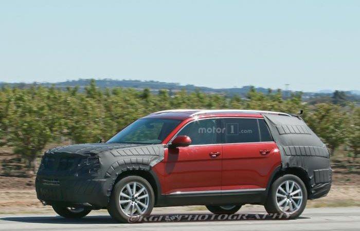 Новый VW на тестах
