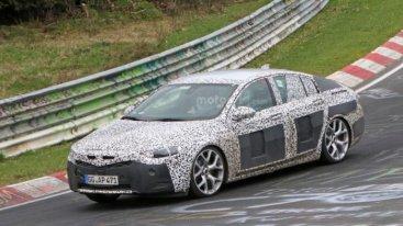 Первые фото Opel Insignia