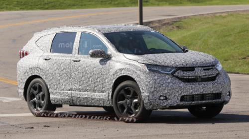 Новый Honda CR-V на тестах