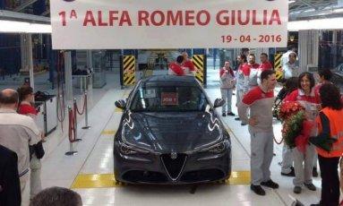 Первая Alfa Romeo Giulia