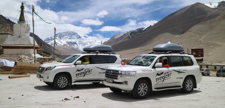Toyota добралась до Эвереста