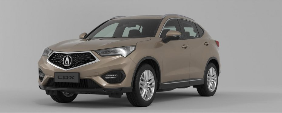 Новый Acura CDX