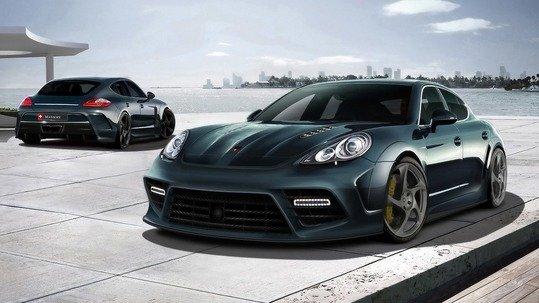 Новый V8 Porsche