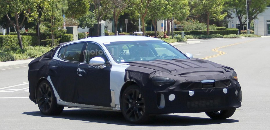 Новый Kia GT от Genesis