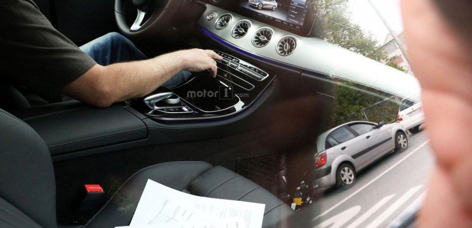 Новое купе Mercedes E изнутри