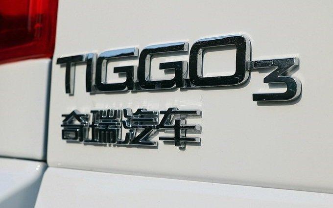 Chery Tiggo 3 показали до премьеры