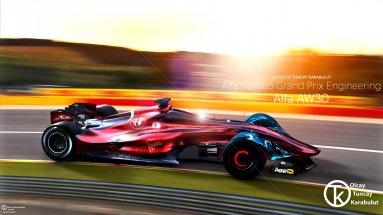 Новый болид Alfa Romeo