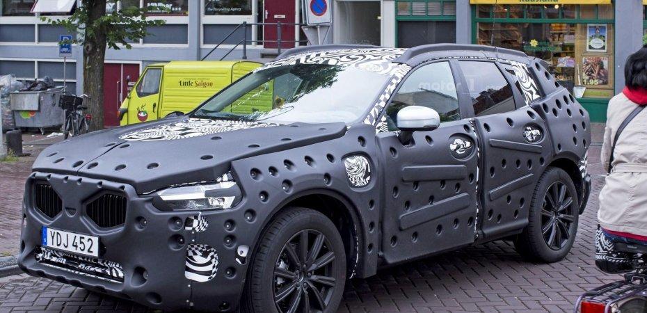 Новый Volvo XC60 на тестах