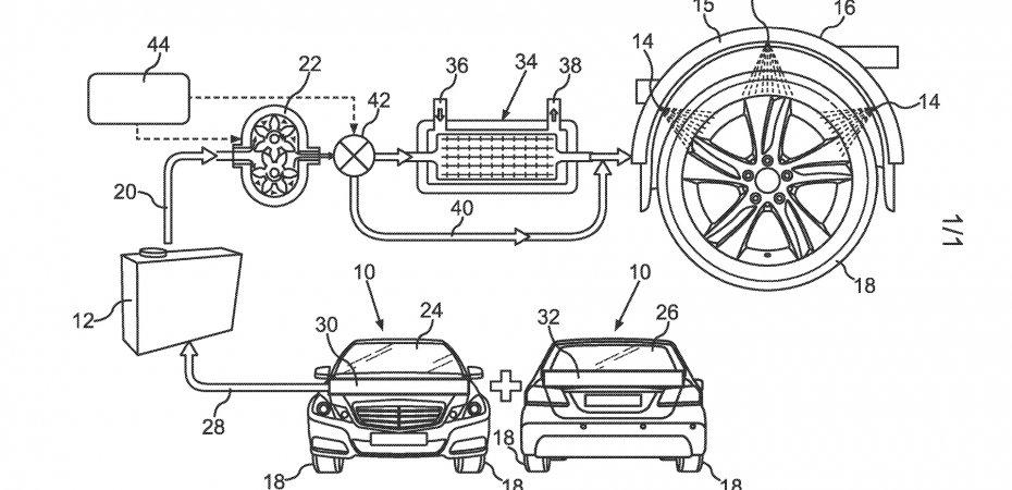 Новое изобретение Mercedes