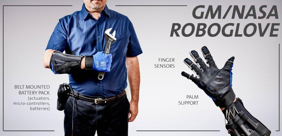 GM создал робоперчатку