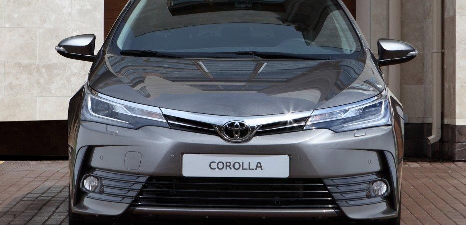New Toyota Corolla: цена вопроса