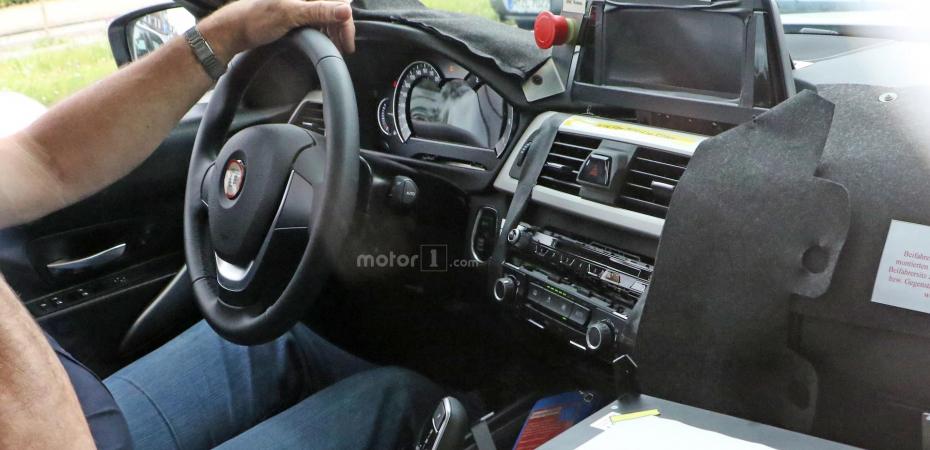 Новый BMW 3 на тестах в Мюнхене