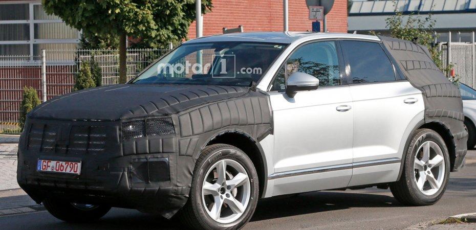 Новый VW Touareg на тестах