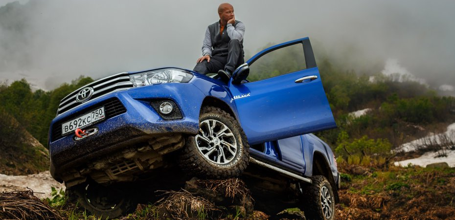 «Предельное напряжение» Toyota Hilux