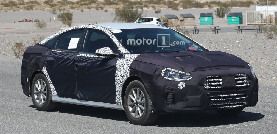 Hyundai обновляет Sonata