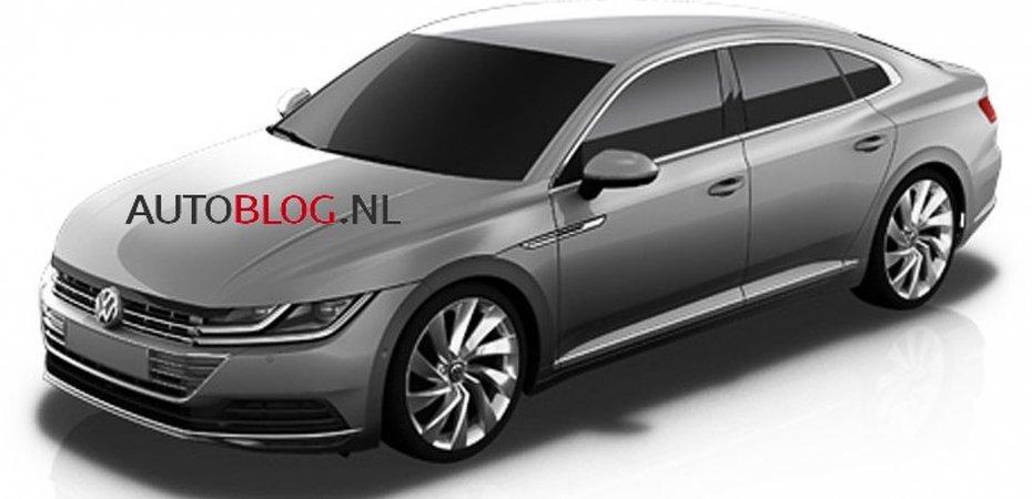 Первое фото VW Passat CC
