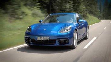 Porsche раскрывает секреты Panamera